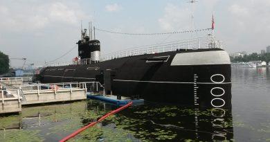 Rosyjski okręt podwodny muzeum