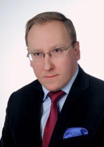 Zdjęcie portredowe doktora Leszka Sykulskiego