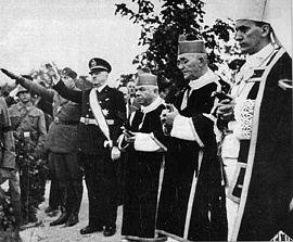 Ustasze uchodzili za jednych z najwierniejszych naśladowców Hitlera.
