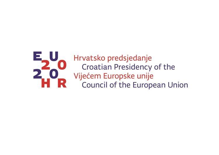 Logo chorwackiego przewodnictwa w Radze UE.