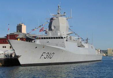 Norweska fregata F310 Fridtjof Nansen typu Fridtjof Nansen