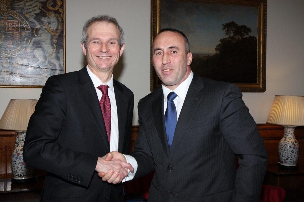 Ramush Haradinaj premier Kosowa